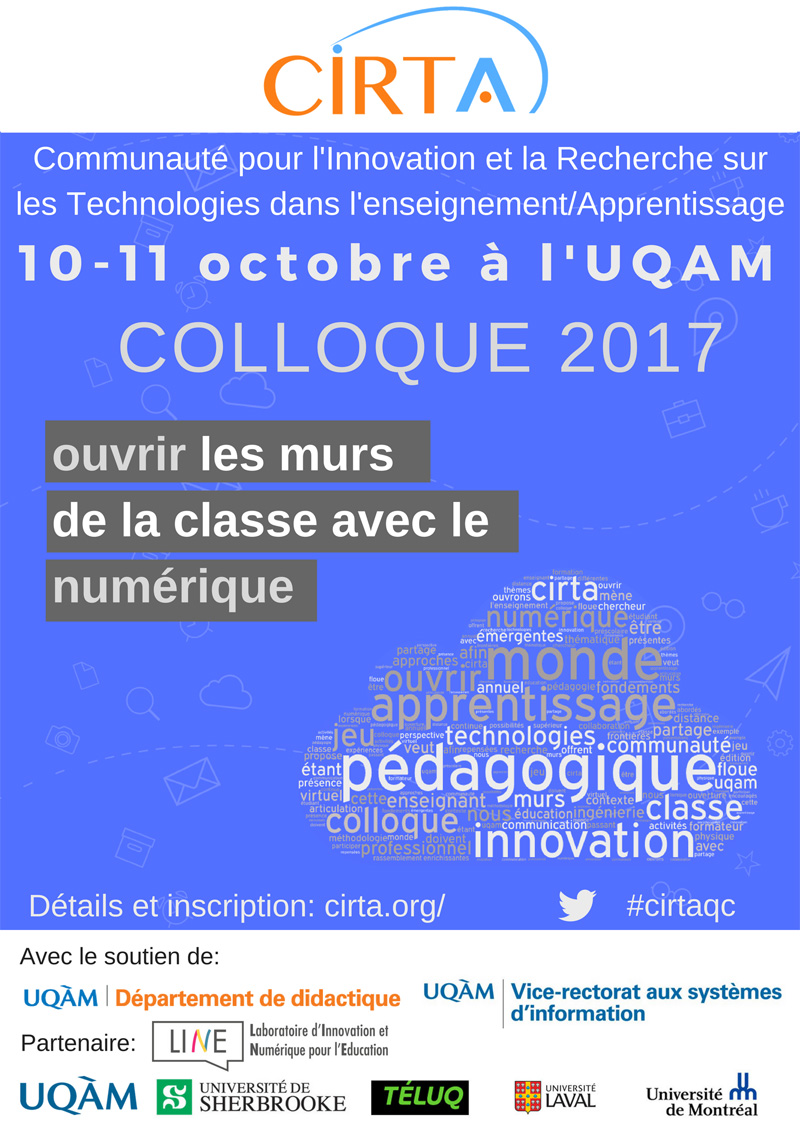 Colloque 2017 de la CIRTA 1409 web